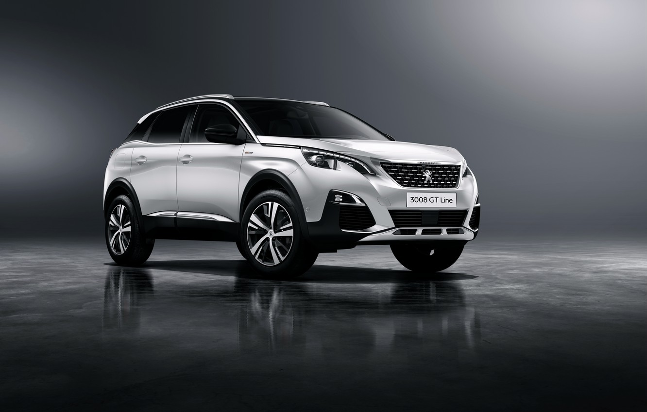 Photo wallpaper background, Peugeot, Peugeot, crossover, 3008