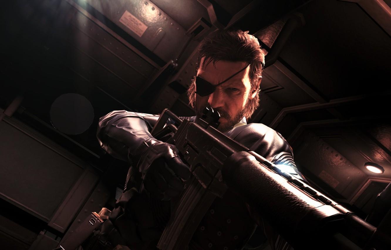 Wallpaper Dude Gun Cool Snake Metal Gear Solid 5 Ground Zeroes