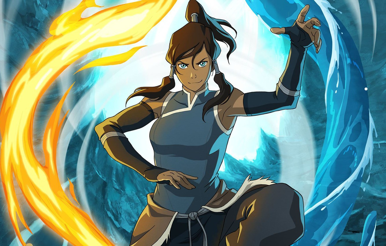 Photo wallpaper water, fire, element, magic, art, Avatar, Avatar, Korra, Times, The Legend of Korra, Avatar: the …