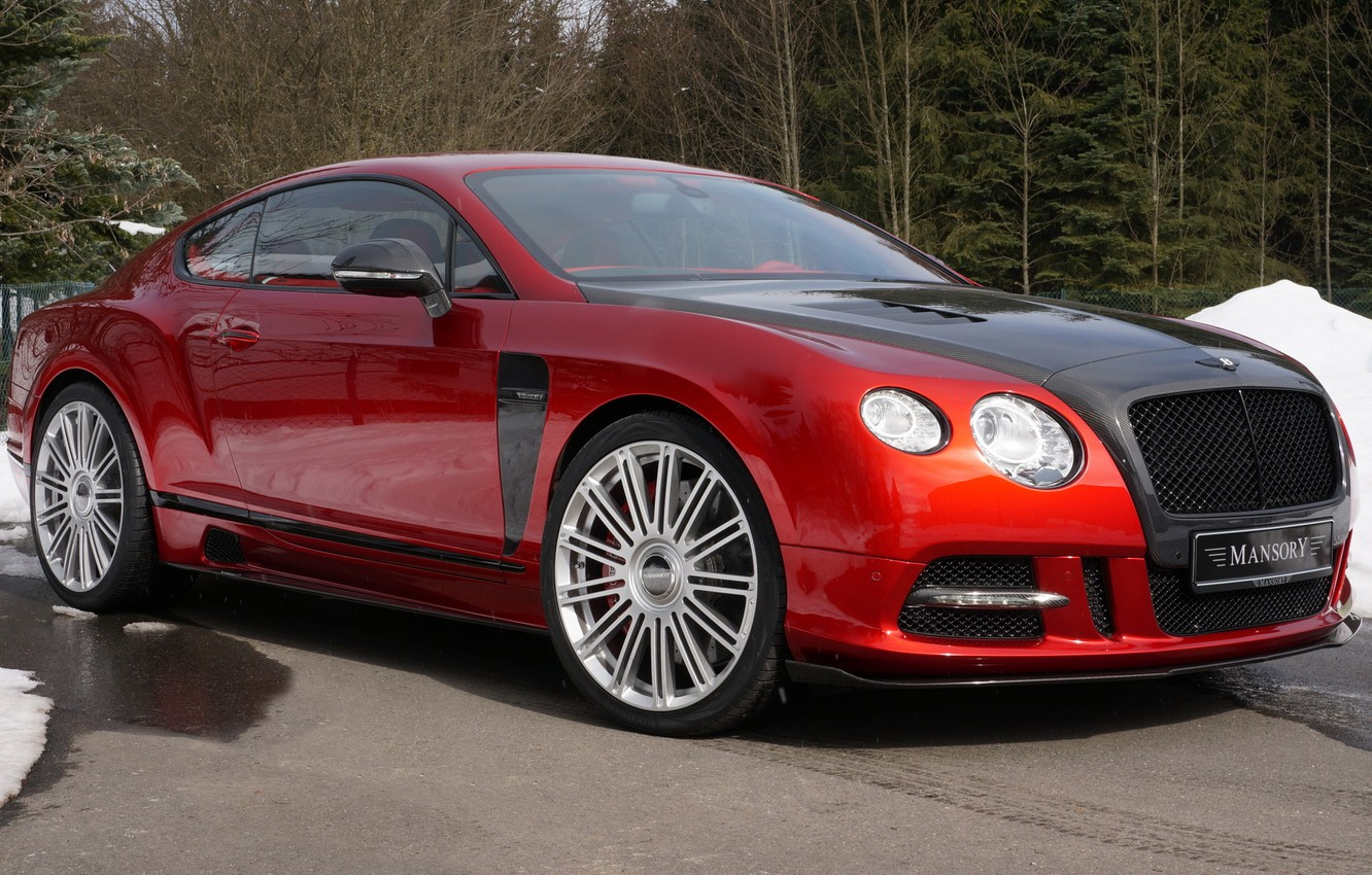 Photo wallpaper Bentley, Continental, Mansory, Sanguis