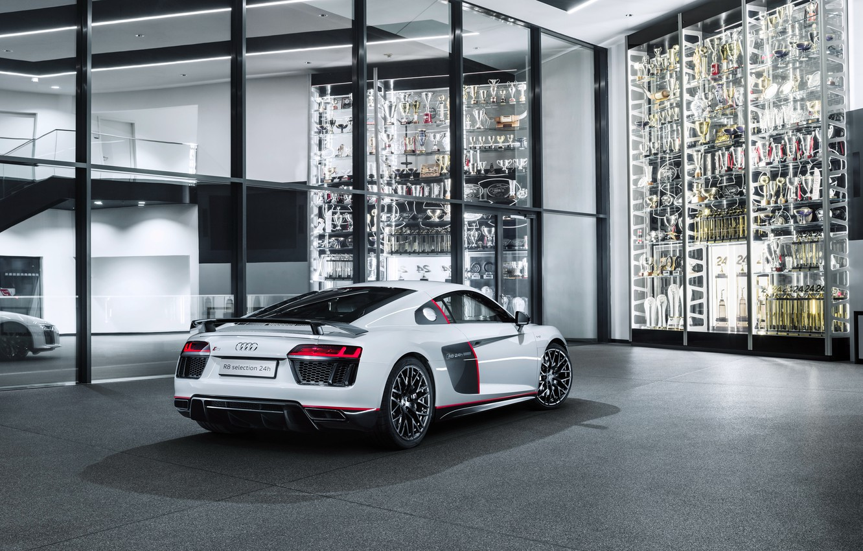 Photo wallpaper Audi, Audi, white, supercar
