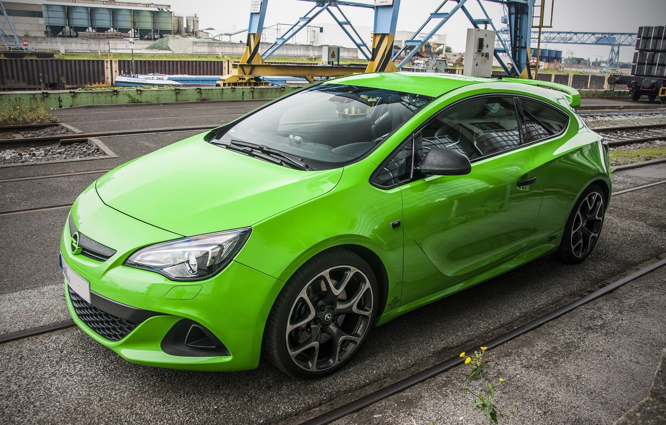 Wallpaper Opel Green Astra Opc Images For Desktop Section Opel Download