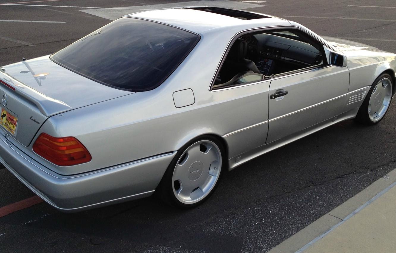 Photo wallpaper Mercedes-Benz, C140, lorinzer