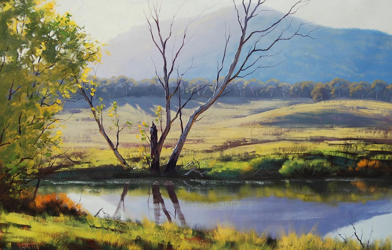 Photo wallpaper ART, FIGURE, ARTSAUS, FISH RIVER TARANA