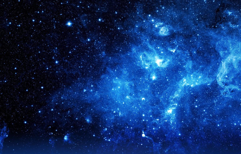Photo wallpaper space, stars, nebula, the universe