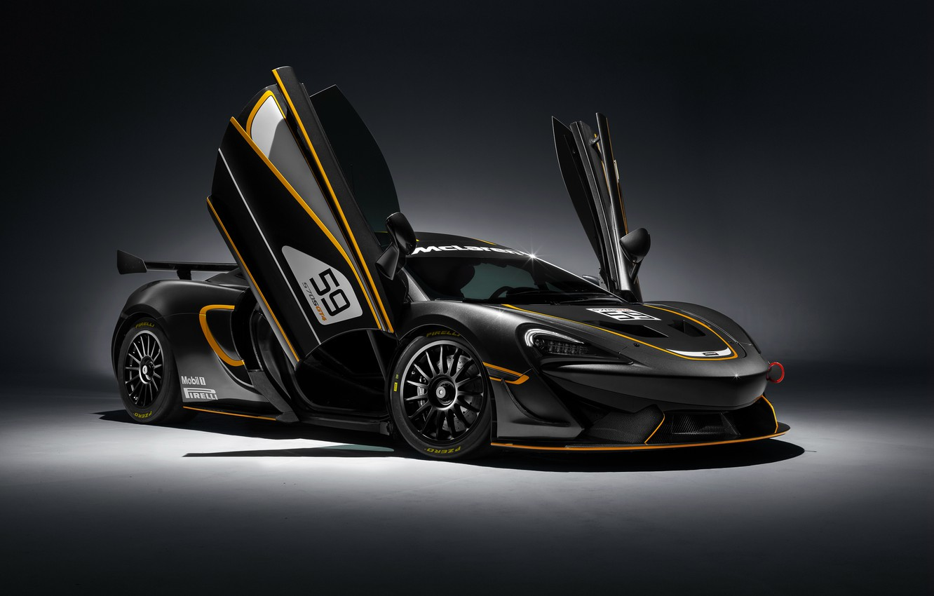 Photo wallpaper background, McLaren, supercar, McLaren, GT4, 570S