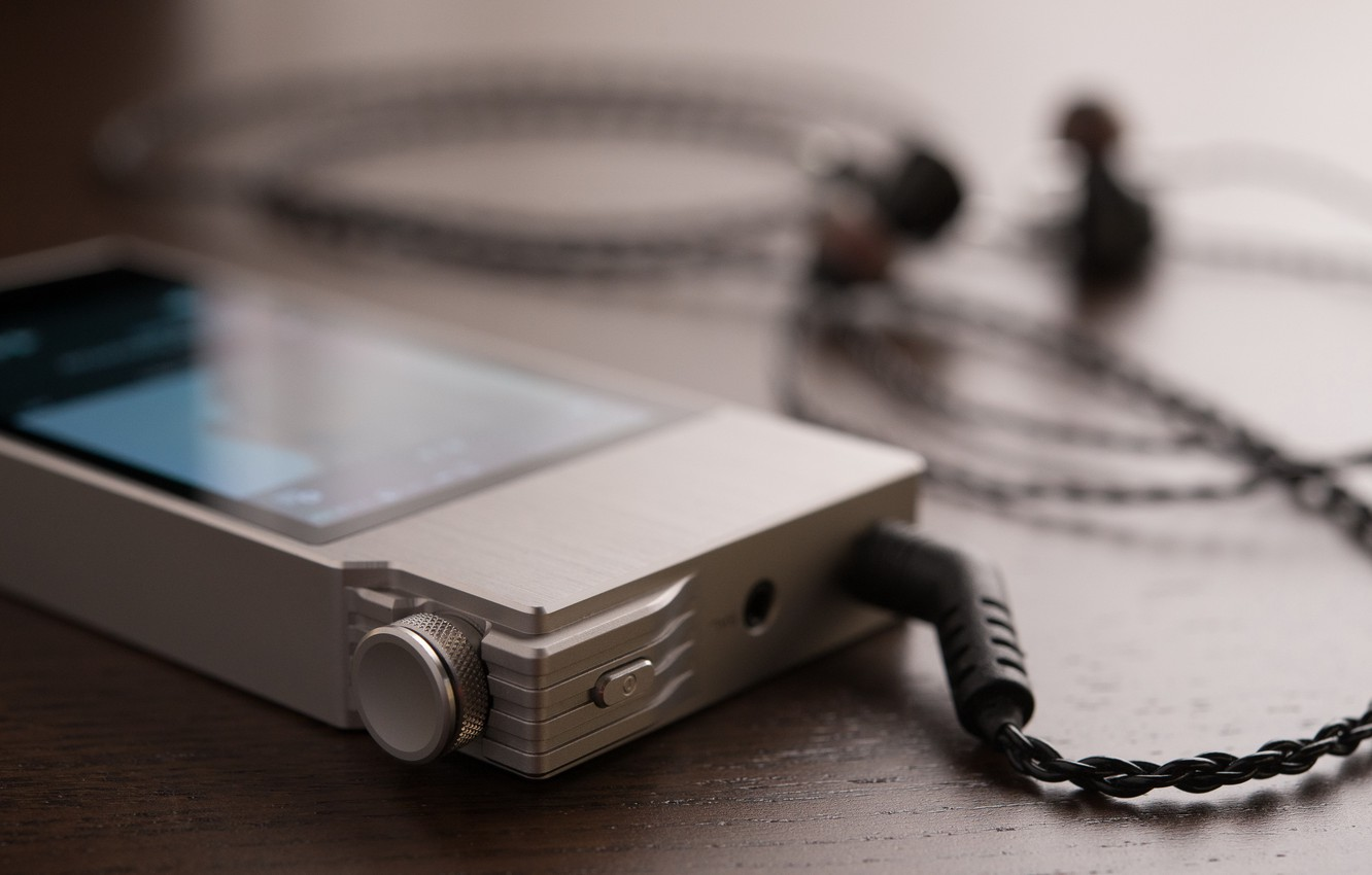 Photo wallpaper player, AK120II Details, Astell and Kern