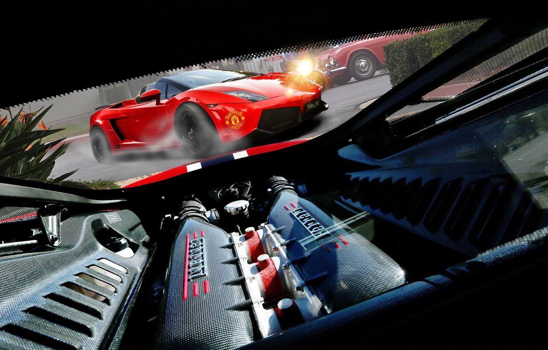 Photo wallpaper car, engine, power, turbine, Ferrari, red, photography, muscle, power, Nikita Nike