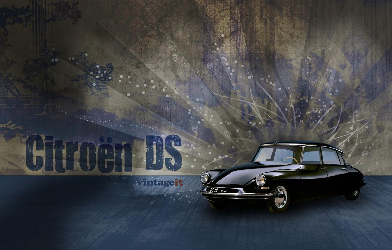 Photo wallpaper France, Citroën DS, 1955—1975, the car business class