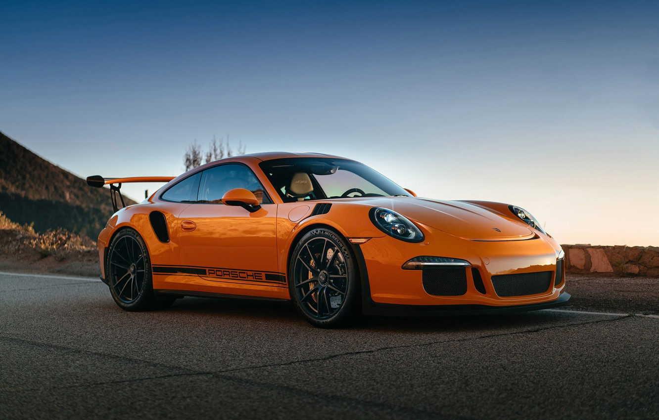 Photo wallpaper 911, Porsche, GT3, with, HRE, P104, RS, in, Satin Black