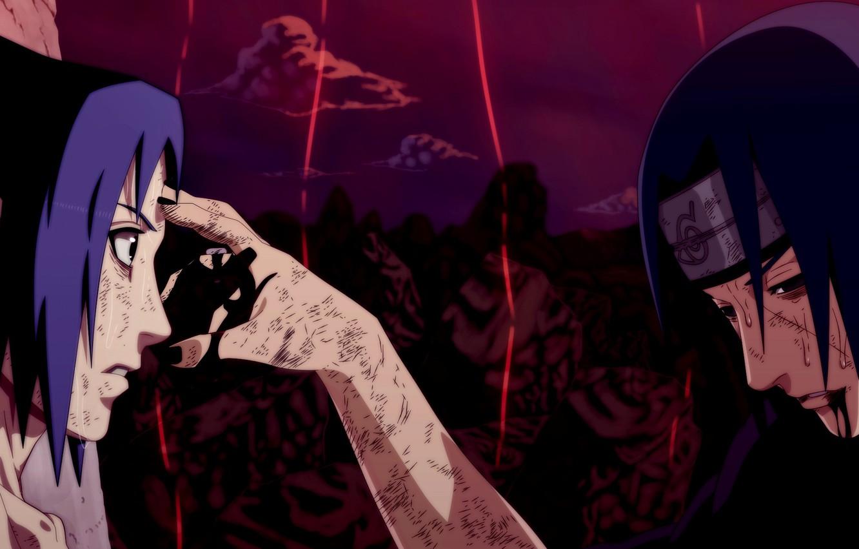 Photo wallpaper Anime, Sasuke, Sasuke, Naruto, Naruto, Anime, Itachi, Itachi
