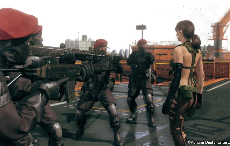 Wallpaper Soldiers Kojima Productions Metal Gear Solid V