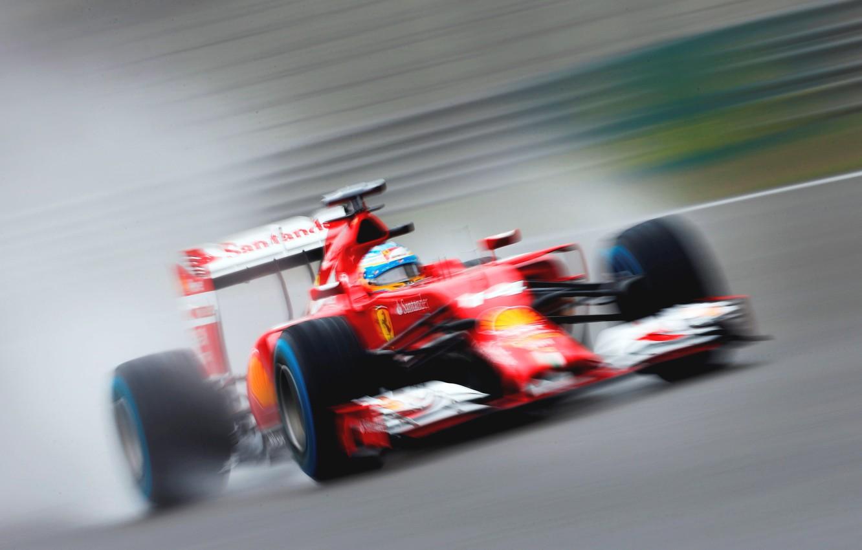 Wallpaper Ferrari Formula 1 Fernando Alonso Alonso F14t