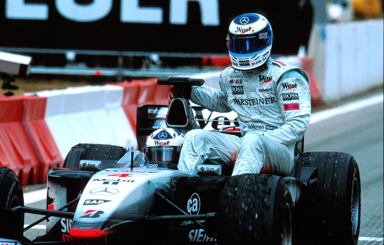 Wallpaper Mclaren Formula 1 Retro Mika Hakkinen David Coulthard