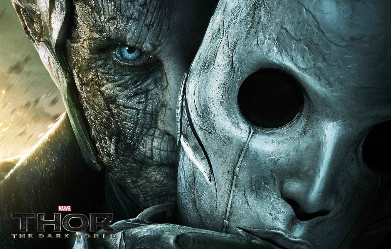 Wallpaper Mask Dark Elf Thor The Dark World Thor The Dark World