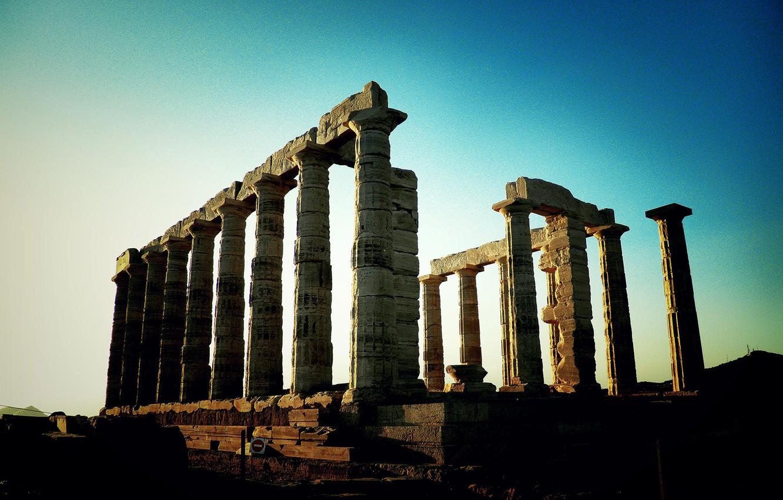 Photo wallpaper 1920x1200, Miscellanea, Ruins, Columns