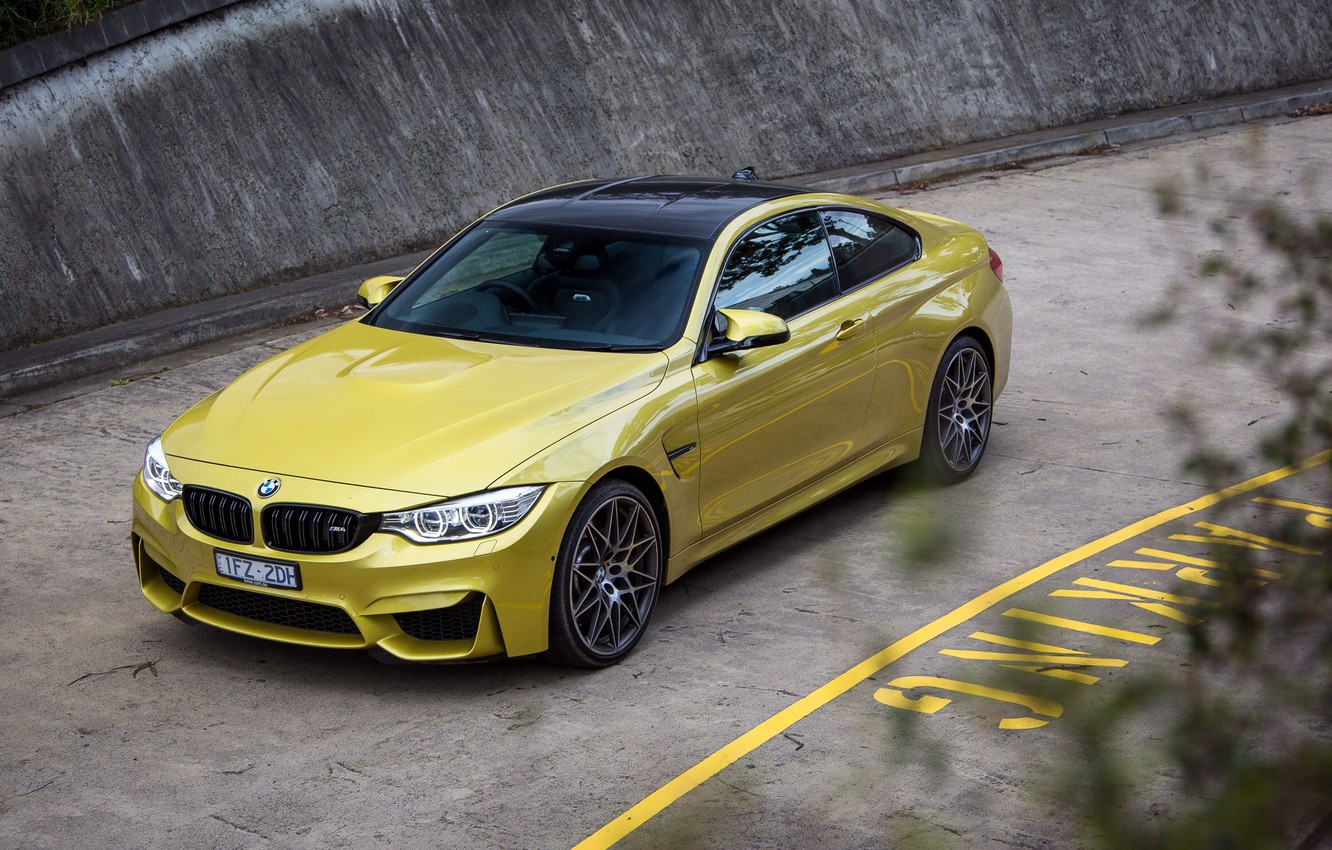 Photo wallpaper road, car, BMW, BMW, car, road, Coupe, Competition Package