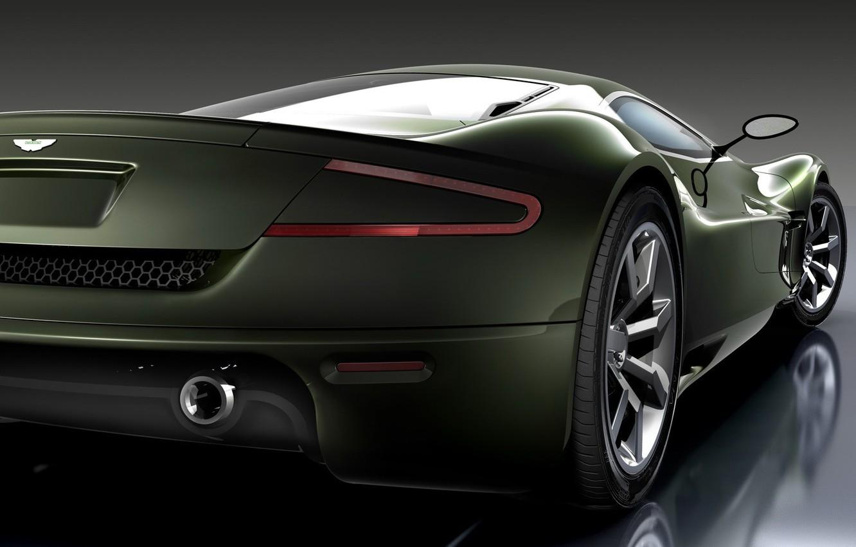 Photo wallpaper machine, auto, Concept, Aston Martin, AMV10, ass