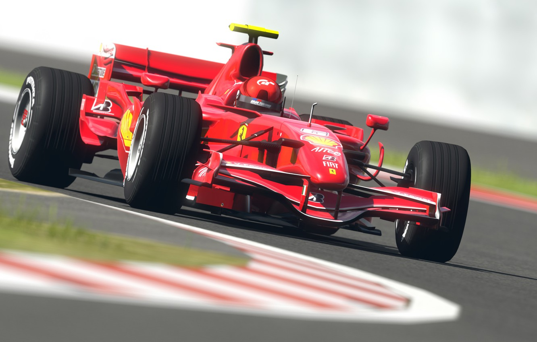 Photo wallpaper road, machine, sport, road, speed, track, formula 1, sport, ferrari, Ferrari, formula 1, racing