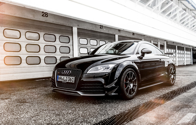 Photo wallpaper Audi, Audi, coupe, black, Black, Coupe, 2015, HPerfomance