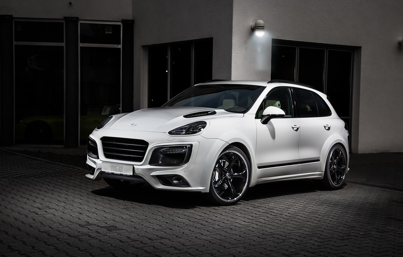 Photo wallpaper Porsche, Porsche, Cayenne, Cayenne, Magnum, TechArt