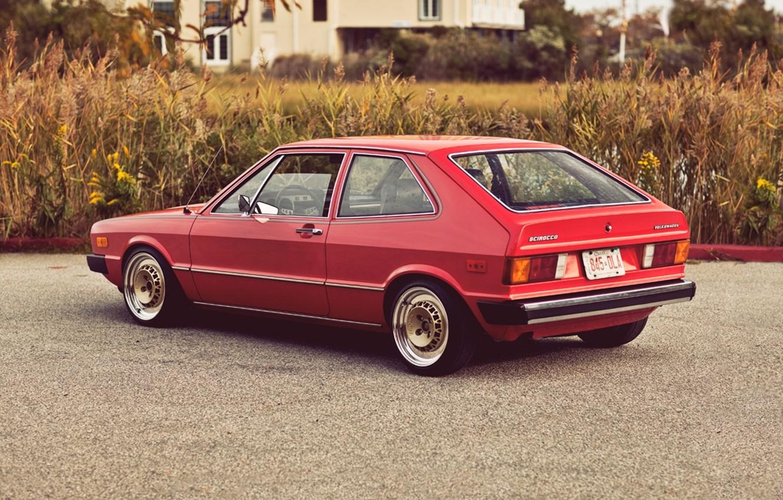 Photo wallpaper Volkswagen, 1975, Scirocco, resto, MK1