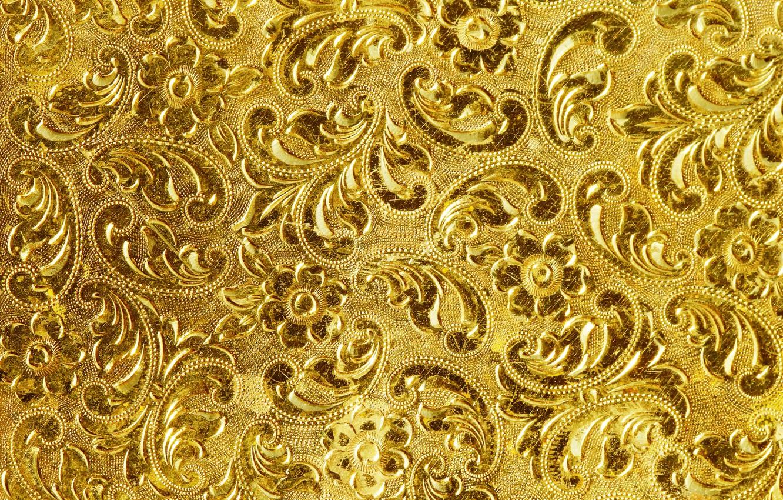 Photo wallpaper background, gold, pattern, texture, golden, background, pattern