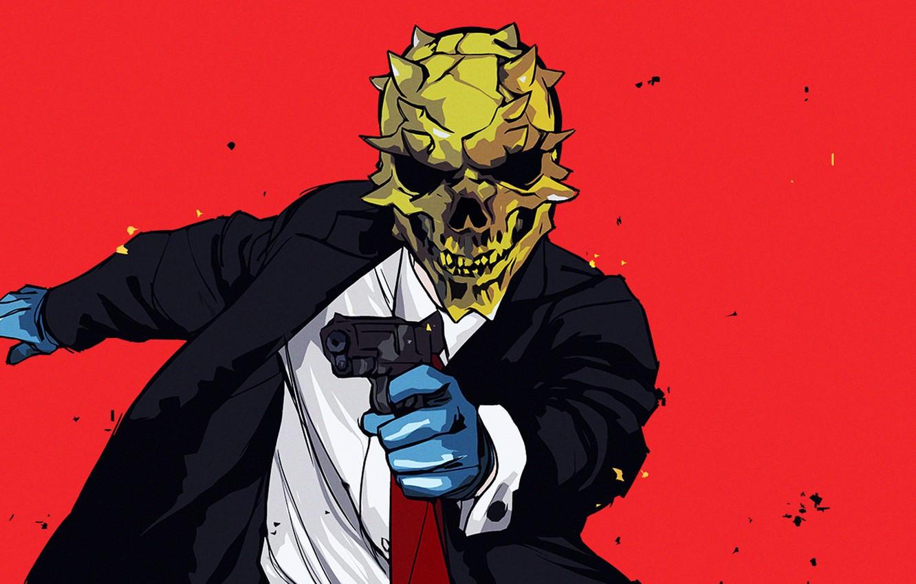 Wallpaper Gun Mask Overkill Software Payday 2 Images For