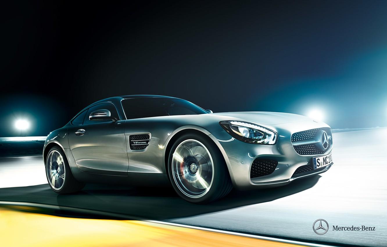 Photo wallpaper Mercedes-Benz, supercar, Mercedes, AMG, 2014, C190