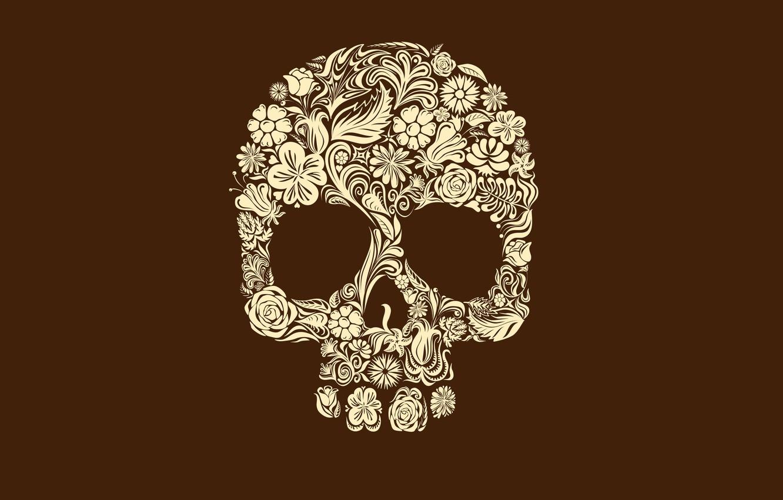 Wallpaper Patterns Skull Minimalism 2560 X 1600 Minimal