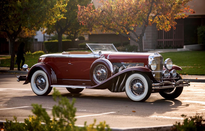 Photo wallpaper coupe, Coupe, Convertible, Duesenberg, 1929, dusenberg, convertible top