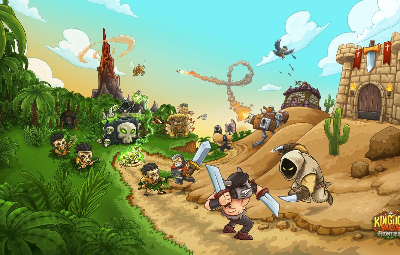 Wallpaper tower, game, Kingdom Rush Frontiers, Kingdom Rush