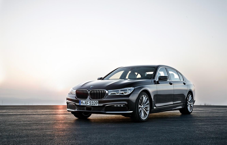 Photo wallpaper BMW, BMW, 750Li, xDrive, 2015, G12