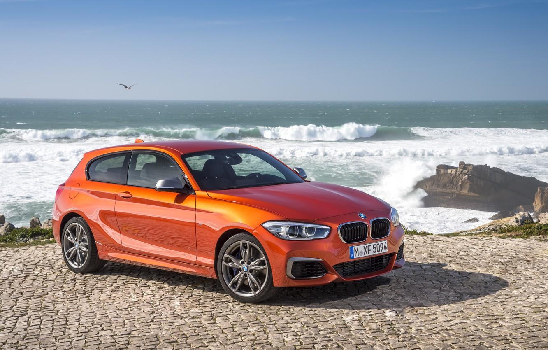 Photo wallpaper BMW, BMW, 3-door, 2015, F21, M135i