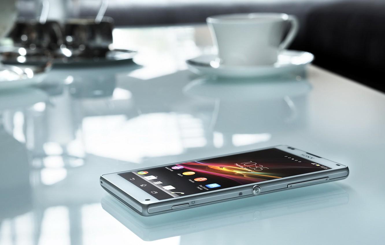 Photo wallpaper sony, xperia, mobile