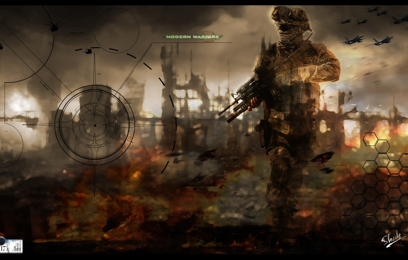 Wallpaper Soldiers Call Of Duty Mw2 Images For Desktop Section