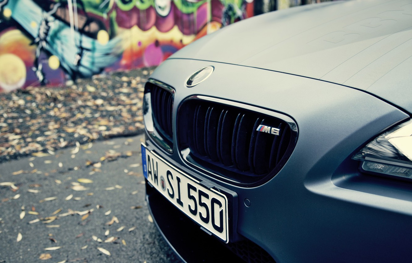 Photo wallpaper room, BMW, grille, car, the front, Cabrio