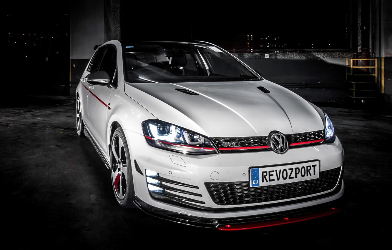 Photo wallpaper Volkswagen, Golf, Golf, GTI, Volkswagen, 2013, Type 5G, RevoZport, Razor 7