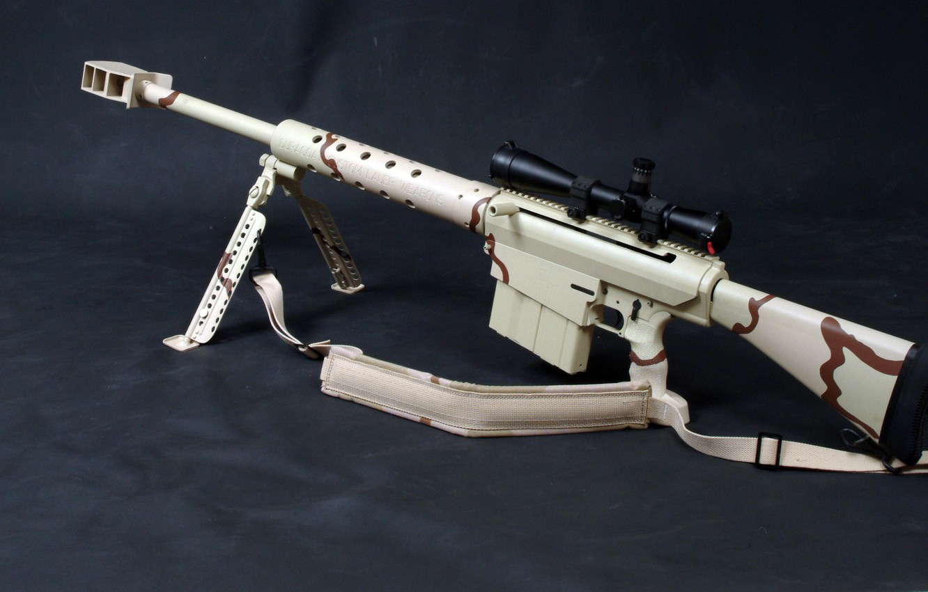 Anti Materiel Rifle wallpaper large-caliber sniper anti-material rifle, fast