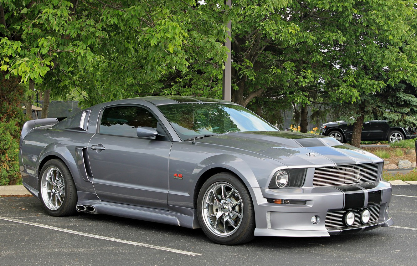 Photo wallpaper Mustang, Ford, C500, Cervini