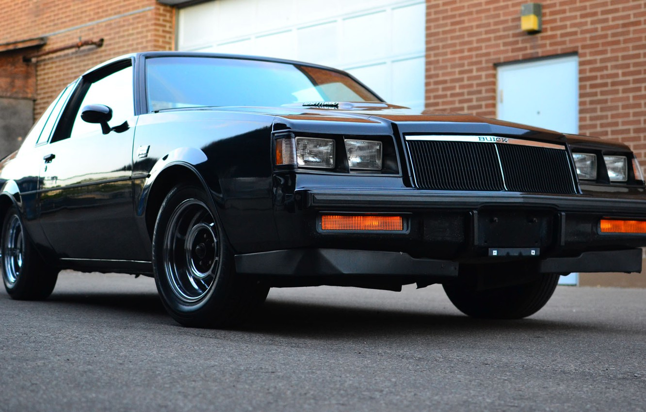Photo wallpaper muscle, classic, buick, grand national