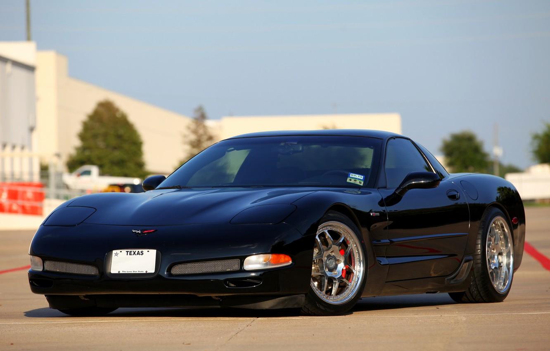 Photo wallpaper Z06, Corvette, Chevrolet, HREs