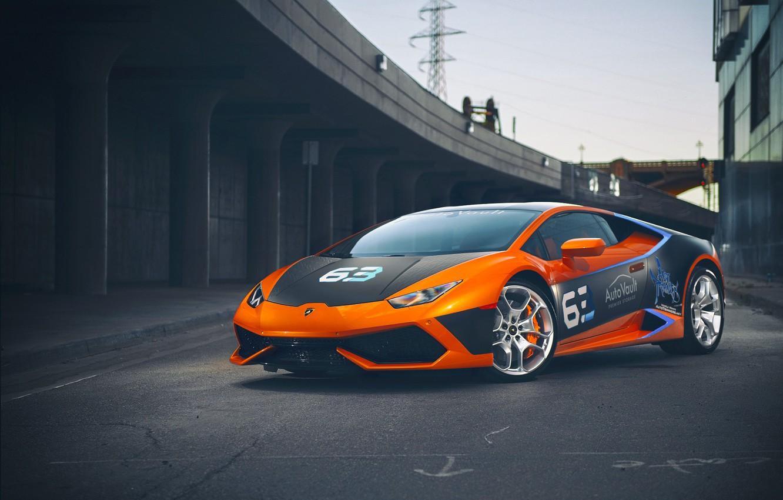 Photo wallpaper sport, tuning, Lamborghini, Huracan