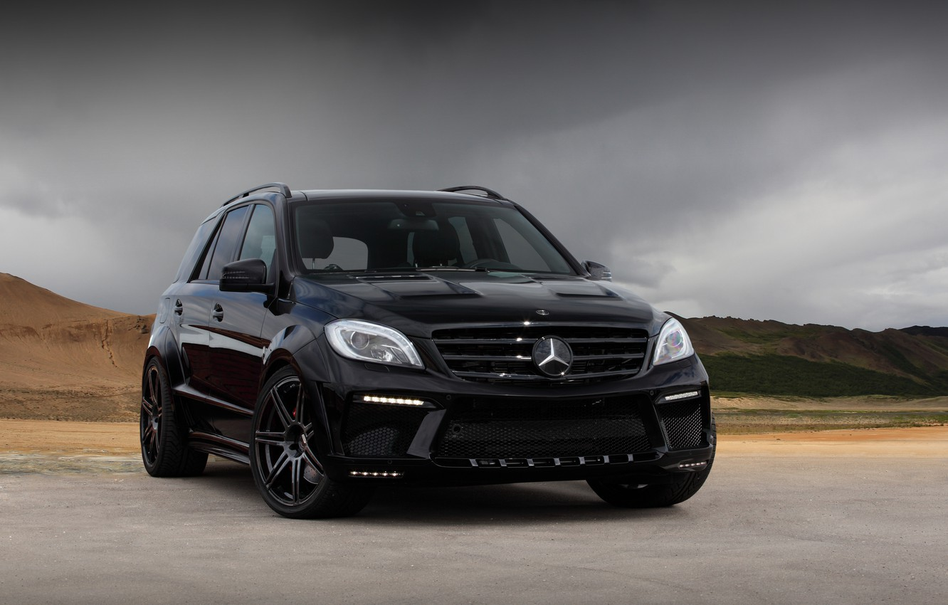 Photo wallpaper amg, ml63, Mercedec-Benz