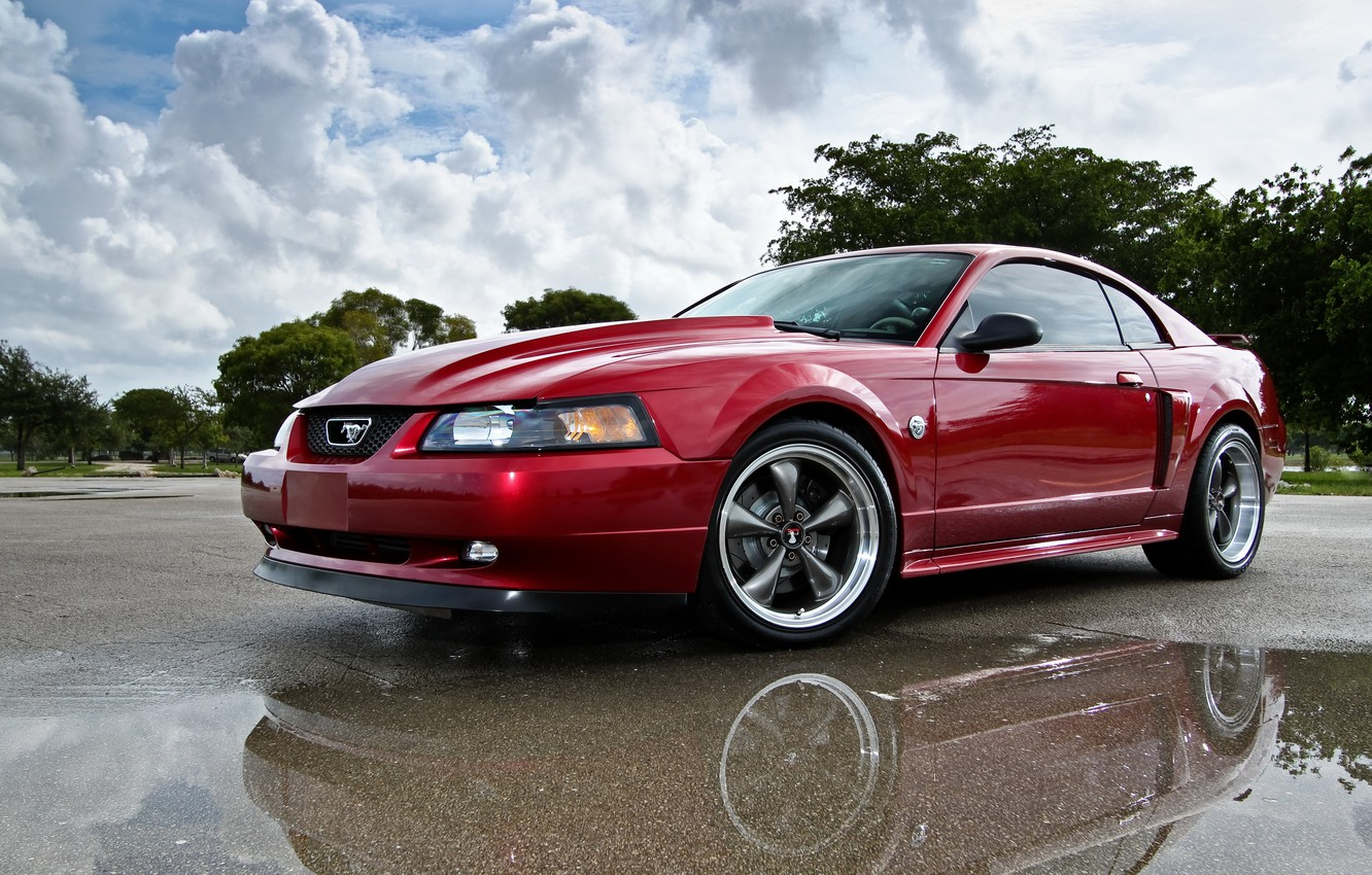 Photo wallpaper Mustang, Ford, 2004