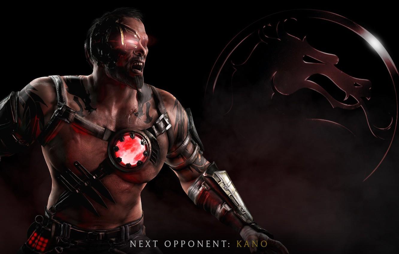 Photo wallpaper Kano, Mortal Kombat X, Mortal Kombat 10, Kano