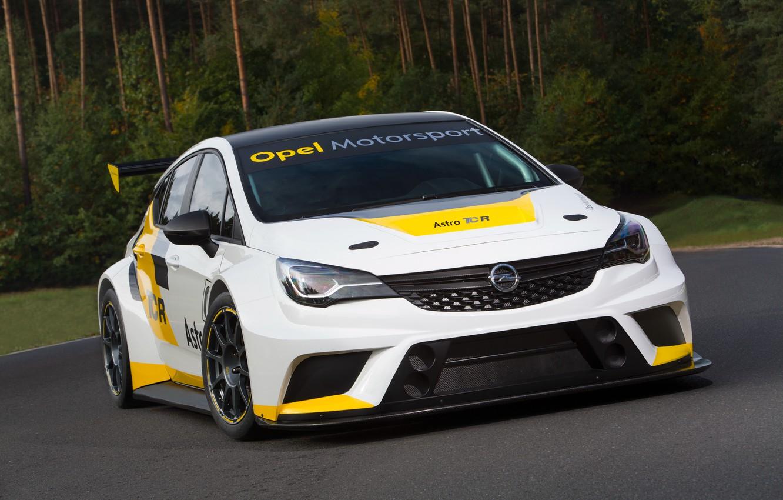 Photo wallpaper Opel, Astra, Opel, Astra, TCR International Series
