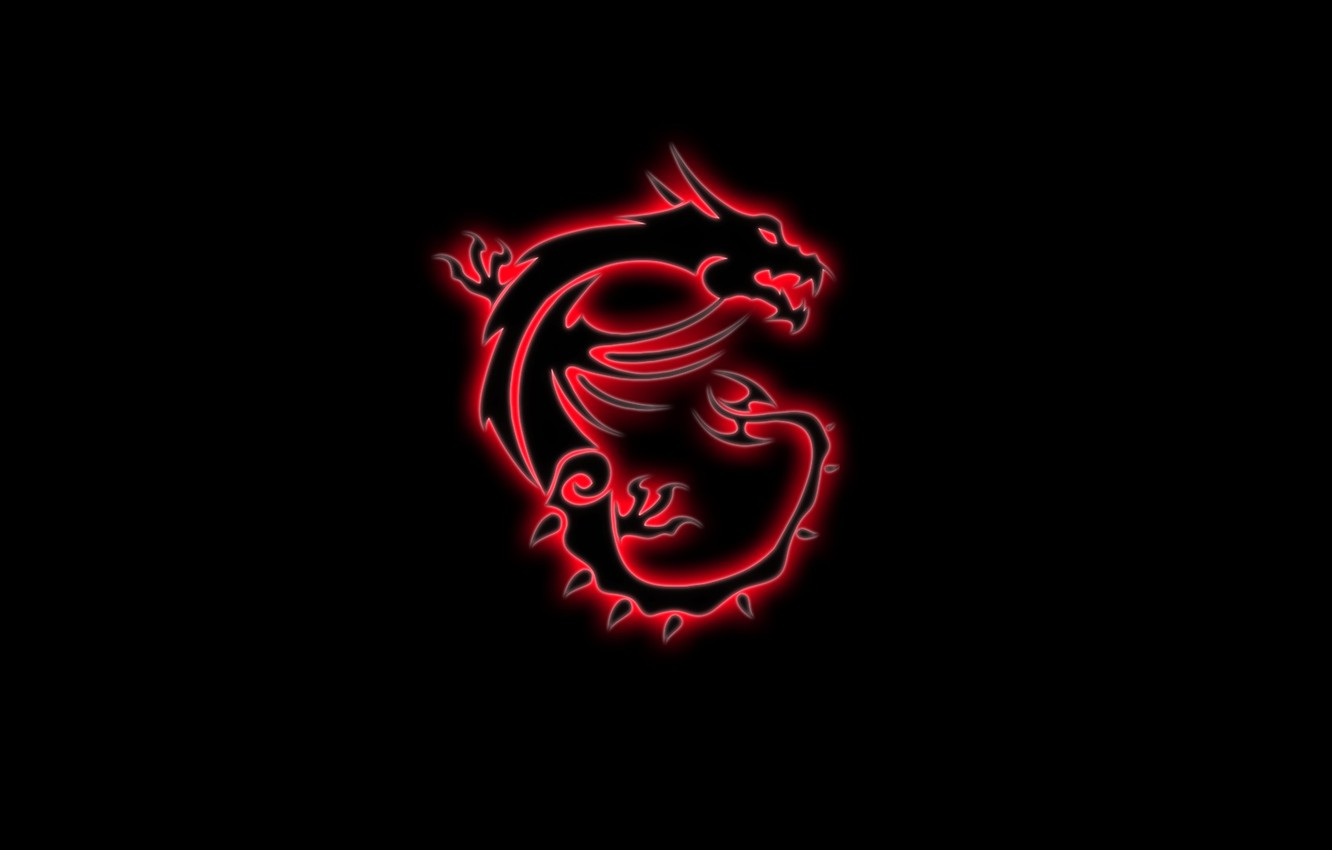 Wallpaper Red Game Black Dragon Gaming Msi Red Dragon
