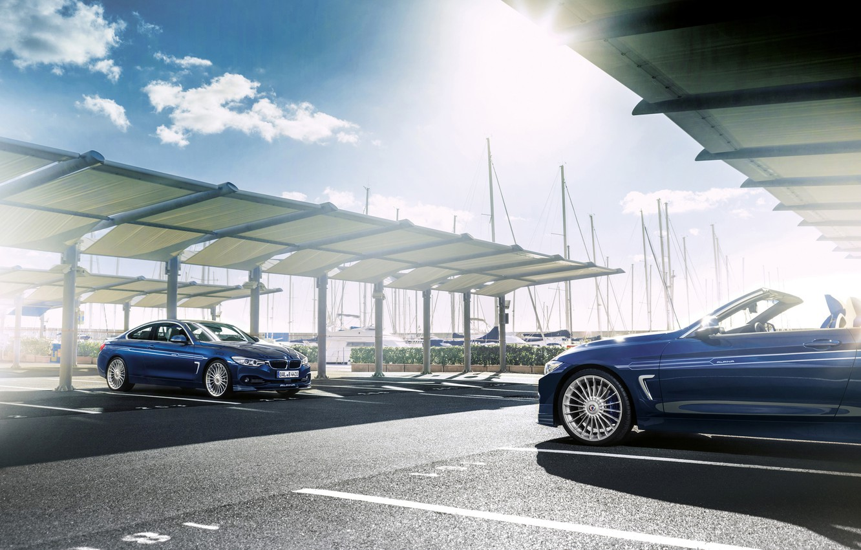Photo wallpaper car, BMW, convertible, Coupe, tuning, rechange, hq Wallpapers, Alpina B4