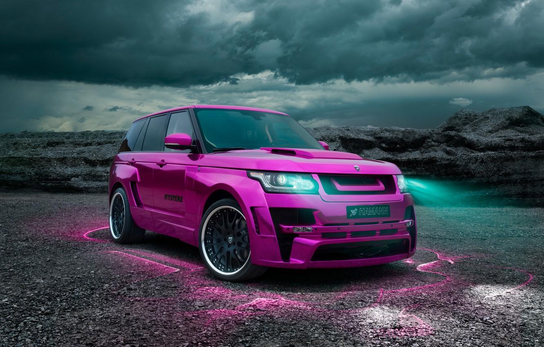 Photo wallpaper Xenon, Tuning, Hamann, Car, Range Rover Vogue